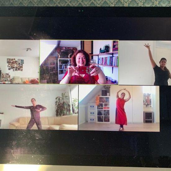 Online danslessen WereldDansWerkPlaats